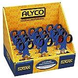 Alyco 108040 - Expositor 24 tijeras para electricistas pelacables 145 mm
