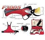 ELECTROCOUP F3005 Reacondicionada Kit Completo Tijeras de Podar Eléctricas