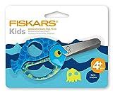 Fiskars Tijeras de animales para niños con motivos de peces, A partir de 4...