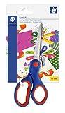 Staedtler Noris Club 96517NBK - Tijeras para niños (17 cm, mango ergonómico,...